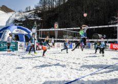 La Guida - A Prato Nevoso il gran finale dello Snow volley