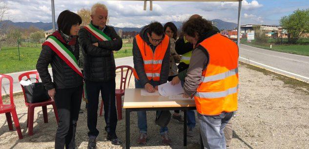 """La Guida - Al via i lavori della rotonda al """"Bivio Borgo"""""""