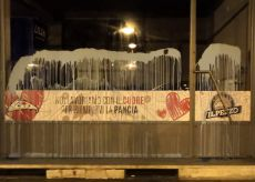 La Guida - Atti vandalici e vernice nella notte in corso Dante e dintorni