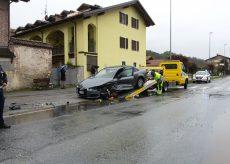 La Guida - Scontro fra auto a Boves, nessun ferito grave