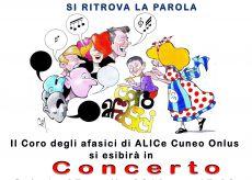 La Guida - Il Coro degli afasici in concerto a Savigliano