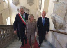 La Guida - Cittadinanza onoraria alla Polizia di Stato, Franco Gabrielli a Cuneo