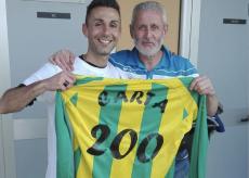 La Guida - Luca Carta festeggia i 200 gol in carriera con una tripletta