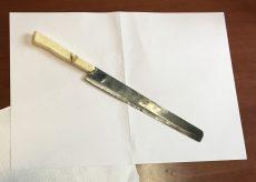 La Guida - Urla nella notte, denunciato un uomo con un coltello