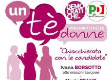 La Guida - Donne e Diritti, un tè con le candidate democratiche