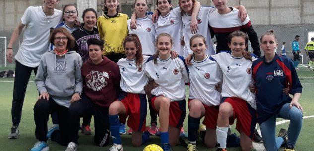 La Guida - Le ragazze del De Amicis alle finali nazionali di calcio a5