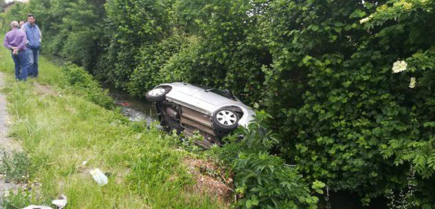La Guida - Scontro tra due auto in via Vecchia di Borgo, 4 feriti