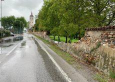 La Guida - Passatore, crolla un tratto di muro lungo via Rocca