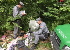 La Guida - Buttano rifiuti nel bosco dopo il trasloco, multati