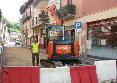 La Guida - Boves, iniziati i lavori di pavimentazione del centro storico