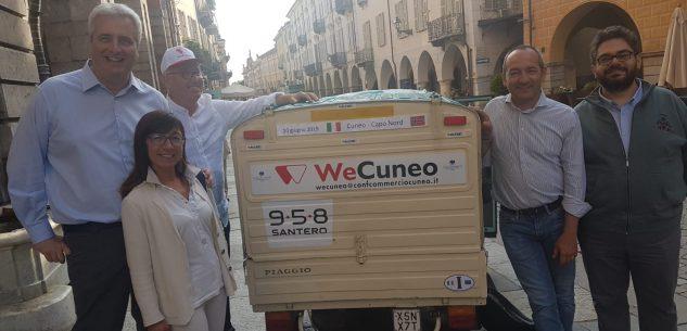 La Guida - Da Cuneo a Capo Nord alla media di 40 km. all'ora con l'Ape Piaggio 50