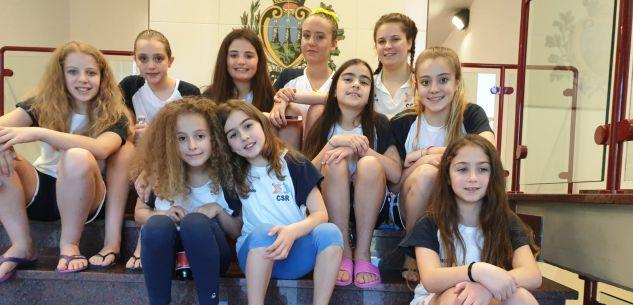 La Guida - Le giovani del Csr Granda protagoniste nel nuoto sincronizzato