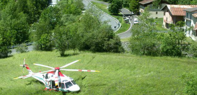 La Guida - Grave incidente per un motociclista in valle Stura