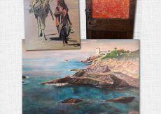 """La Guida - """"La Magia del Colore"""", la mostra di Dannier, Oberti e Lidiano in Provincia"""