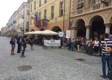 La Guida - Parcheggio in piazza Europa, la protesta continua