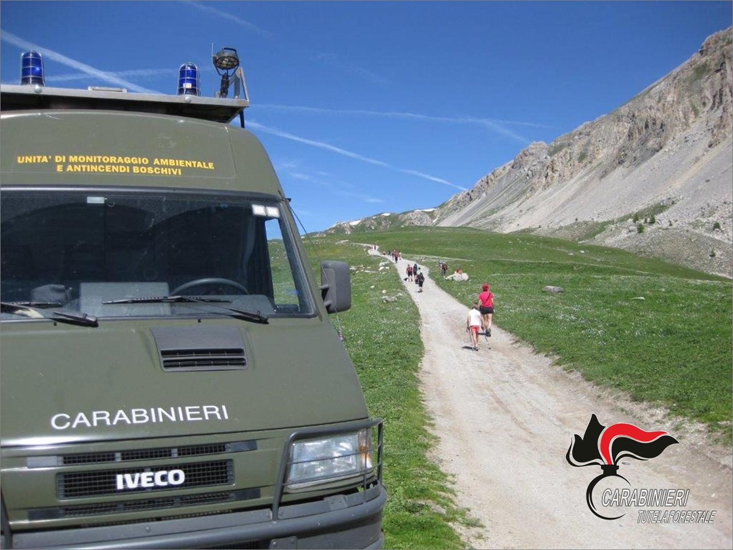 Carabinieri Forestali alla Gardetta