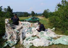 La Guida - Abbandona rifiuti aziendali: denunciato