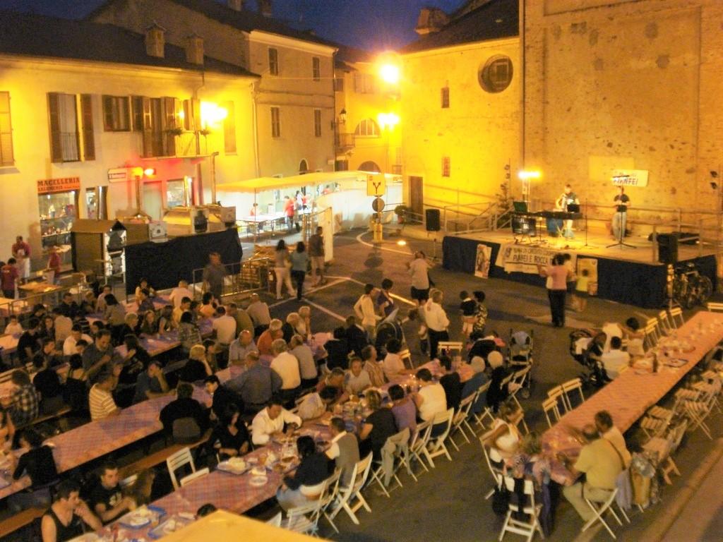 Pizza in piazza a Pianfei
