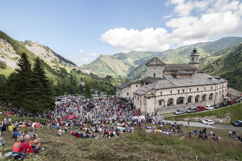 Concerto di Ferragosto dei Lou Dalfin a Castelmagno