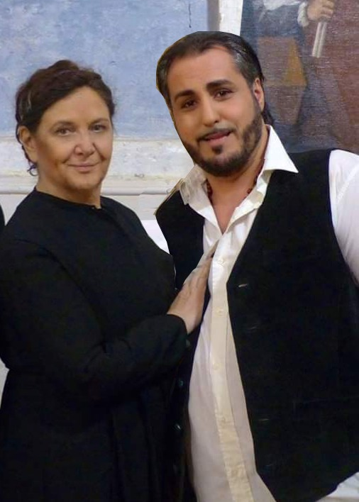 Mirella Caponetti e Alberto Profeta