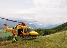 La Guida - Mountain biker ferito sulla collina di Piasco