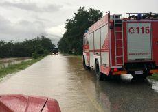 La Guida - Temporali, interventi dei Vigili del fuoco con sommozzatori