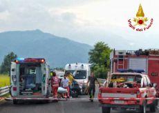 La Guida - Incidente stradale a Mondovì, grave una donna