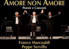 """La Guida - Marcoaldi, Servillo e Califano in """"Amore non amore"""""""