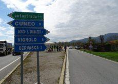 La Guida - Rotatoria di Caraglio, dalla prossima settimana chiusa la provinciale 422 Cuneo-Caraglio
