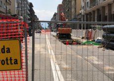 La Guida - Corso Nizza riapre dopo i cantieri del teleriscaldamento