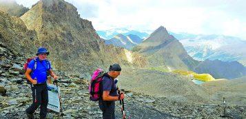 La Guida - Escursioni nelle valli Gesso, Varaita e in Valle d'Aosta