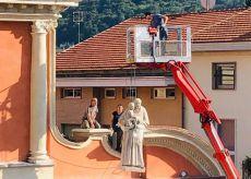 La Guida - Boves, la statua di Sant'Antonio torna in San Bartolomeo