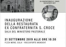 La Guida - Restauro dell'ex Confraternita di Santa Croce e mostra di Sergio Unia