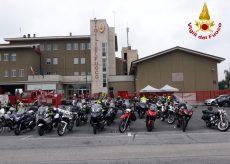 La Guida - Motoraduno dei Vigili del fuoco di Cuneo