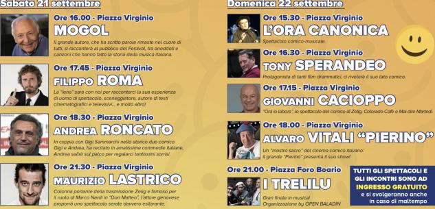 La Guida - Artisti e comicità a Cuneo con il Festival del sorriso
