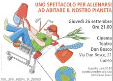 """La Guida - Spettacolo del Movimento consumatori per """"allenarsi ad abitare il pianeta"""""""