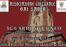 """La Guida - In Municipio la conferenza """"Sguardi su Cuneo"""""""