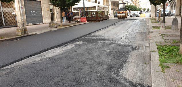 La Guida - Nuovi manti stradali in centro Cuneo
