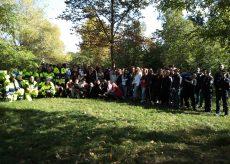 """La Guida - Un centinaio di studenti cuneesi a """"Puliamo il Parco"""""""