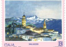 La Guida - Saluzzo e la bellezza del suo panorama celebrate in un francobollo