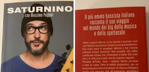 La Guida - Saturnino, il bassista di Jovanotti, presenta a Cuneo il suo libro