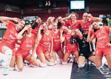 La Guida - Le ragazze di Cuneo conquistano la prima vittoria in casa