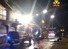 La Guida - Incendio in un garage e in un'abitazione di Scagnello