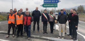 La Guida - Caraglio, inaugurata la rotonda di bivio Borgo