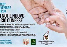 La Guida - Cuneo Calcio e McDonald's insieme per beneficenza
