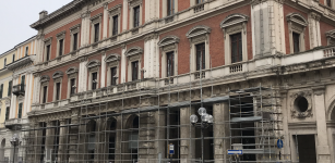 La Guida - Iniziano i lavori per la ristrutturazione dell'ex Banca d'Italia