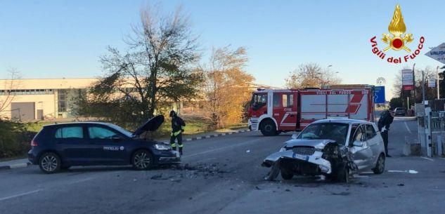 La Guida - Incidente sulla statale tra Cuneo e Borgo