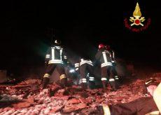 La Guida - Boves, incendio di un tetto a Mellana nella notte