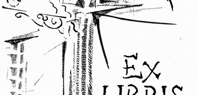 La Guida - Gli ex libris di Nino Baudino in Biblioteca