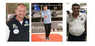 La Guida - Bruno, Rizzi e Goffredo alle finali del circuito francese di petanque